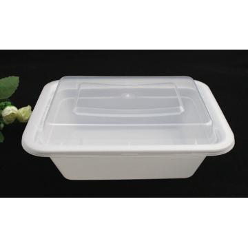 Caja de Picnic / Contenedor de Alimentos de Plástico, Microwave Safe
