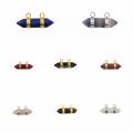 Мода Шестиугольник Восьмиугольник Кулон серебро для женщин ювелирные изделия ожерелье