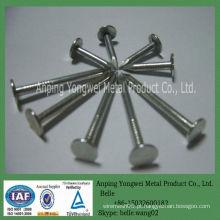 YW - alta qualidade galvanizado 1-3 polegadas pregos de telhado com cabeça de guarda-chuva