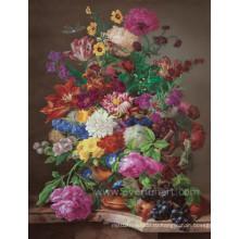 Ручная роспись классической импрессионистической цветочной живописи