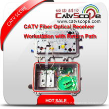 Provedor Profissional Design Modular de Alto Desempenho CATV Workstation Óptica / Estação de Trabalho Rfog
