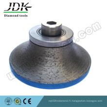 Boutons de routeur continu diamant B20 pour profilage de bordure de dalle de granit
