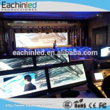 Petit écran d'intérieur d'église de lancement de pixel de 2.5mm avec aucun masque noir et taux élevé 3840HZ de Refrash de MBI5153