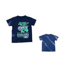 2016 T-shirt novo do menino da forma do projeto na roupa dos miúdos (BT095)