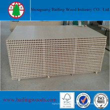 Panneau de particules de noyau creux de haute qualité de 15mm de Chine