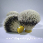 High Mountain White Badger Haarscheerkwast Knopen