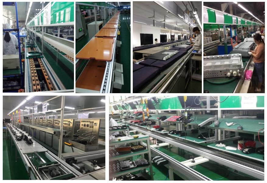 speed chain conveyor assembly line