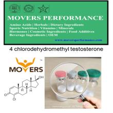 Sterods orales: 4 clorodihidroetil testosterona