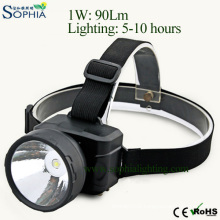 Rechargeable LED Headlight, Head Lamp, LED Flash Light, LED Spotlight, Outdoor Lighting, Bicycle Light, Miner′s Lamp