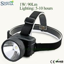 Farol principal recarregável, lâmpada principal, luz instantânea do diodo emissor de luz, projector do diodo emissor de luz, iluminação exterior, luz da bicicleta, lâmpada do mineiro