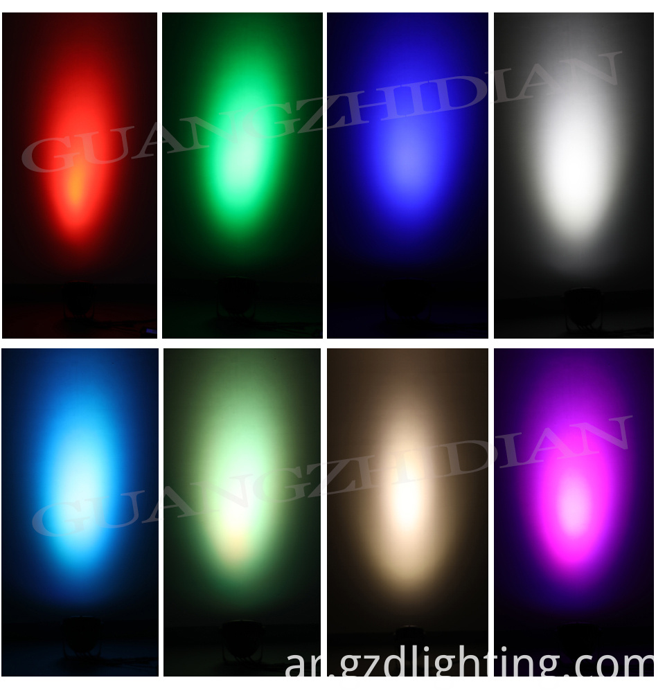 led spot light lighting effect