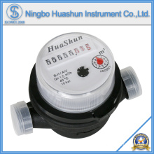 Medidor de água de plástico / medidor de água de jet único / tipo seco Medidor de água