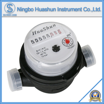 Plastic Water Meter/Single Jet Water Meter/Dry Type Water Meter