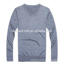 2015 venta caliente en suéter de cachemira americano y europeo masculino