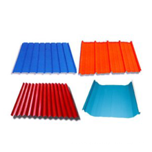 Color Coated Corrugated Colorful Metal Roofing Steel Plate Sheet Tile