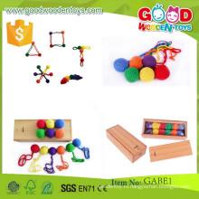 Высокое качество gabe игрушки дети интеллектуальные деревянные игрушки OEM образовательных gabe шарик игрушки