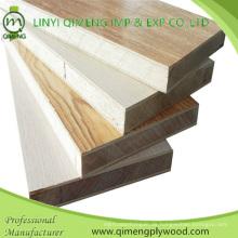 15-19mm Melamin Papier Gesicht Block Board Sperrholz für Möbel