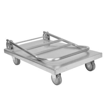 Chariot de cuisine en acier inoxydable