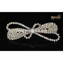 2015 Sweety Corea Bowknot Girls moda Rhinestone Hairgrip Crystal Hair accesorio