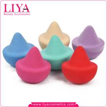 Новый дизайн OEM разноцветные латексные макияж губку для порошка