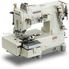 Kansai BLX Series, 2-Needle Bottom Cover Stitch Belt loop Making Machine