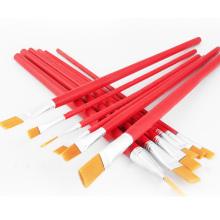 Artist Professional Kits Nylon Hair Brushes Oil Watercolor Acrylic Paint Brush Set