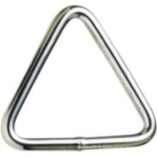 Quincaillerie en métal acier inoxydable soudé Tringle Ring