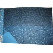 Fine Wool Print Tier Schal für Cold Weater