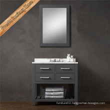 Euro Solid Wood Floor Mounted Bathroom Vanity