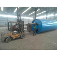 Máquina de pirólisis de residuos de calefacción de gas / aceite de plástico máquina