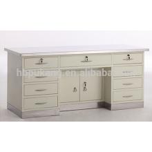 Arbeitstisch mit Edelstahl Oberfläche und Boden Waschbecken G-5