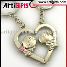 2012 AG-G10KC-63 porte-clés en laiton en forme de coeur