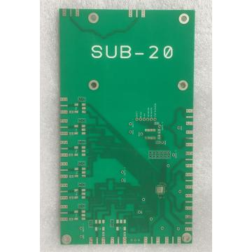 2 στρώματα PCB με 0,8 mm 1OZ ENIG express pcb