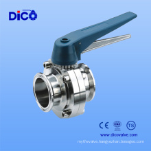Dico Butterfly Valve for Food Industry