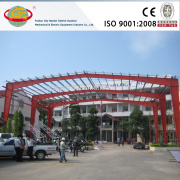 Fast assemble security guaranteed steel fabrication car shelter