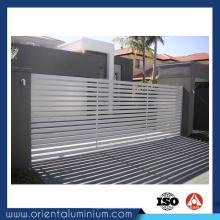 Portes coulissantes en aluminium pour porte principale
