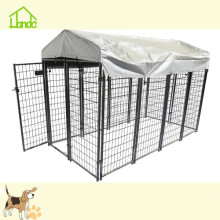 16 ft welded mesh large dog cage