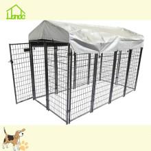16 футов сварная сетка большая клетка для собак