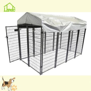 16 ft geschweißtes Netz großer Hundekäfig