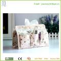 Eco-amigo Mistura De Algodão De Linho Multi-fonction Tissue Box Cover Papel Titular Saco De Armazenamento