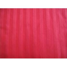 100% hilado de algodón teñido de tela con franja para textiles para el hogar
