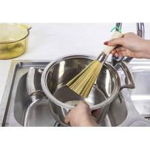 Бамбуковая щетка для мытья посуды