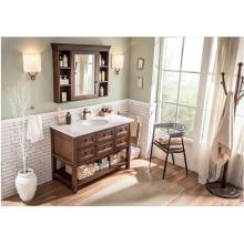 Newly Fashion Hot Sale Top Classique en bois massif vanité de salle de bain