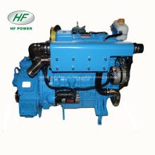 HF-4102 4-цилиндровый водяной охладитель 70-сильный морской дизельный двигатель