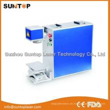 Máquina de marcado láser de fibra con 20W Mopa / Fibra de Mopa Máquina de impresión colorida de láser
