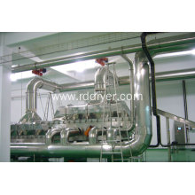 Succinic acid dryer
