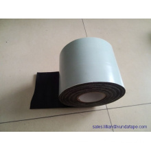 China Shandong Polyethylene anticorrosion adhesive tape as pipe coating tape with black or white color
