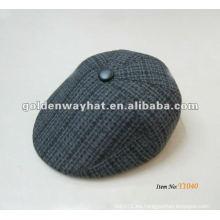Sombrero fresco de la hiedra de los hombres gorras de camionero