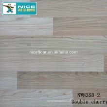 NWseries Pavimento de madeira do parquet da cereja dobro Revestimento do parquet do núcleo de HDF