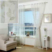 La fábrica suministra directamente las cortinas baratas tela de la cortina del voile